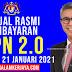 BPN 2.0 : Jadual Rasmi Pembayaran BPN 2.0 Bermula 21 Januari 2021