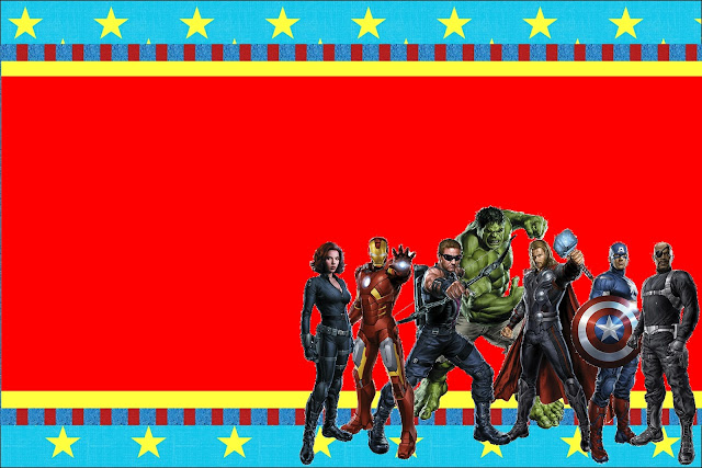 Avengers Free Printable Invitations Oh My Fiesta in english