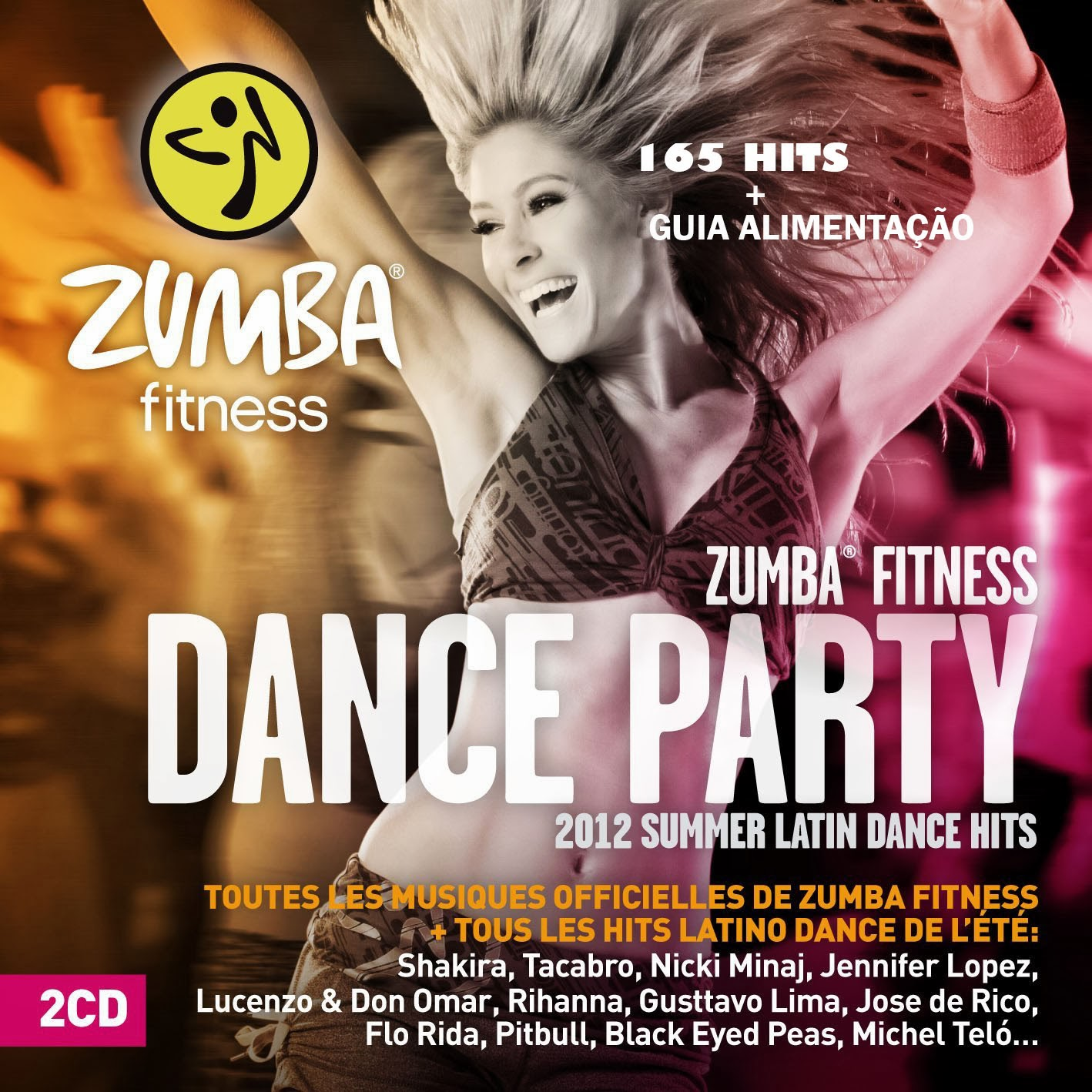 Zumba Fitness Live Dvd: Kit DVD Zumba Fitness - Dança E Fitness