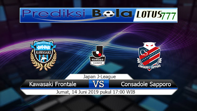 Prediksi  Kawasaki Frontale vs Consadole Sapporo  Jumat 14 Juni 2019