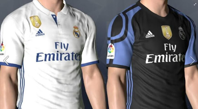 Real Madrid Kit with Club World Cup Badge PES 2017