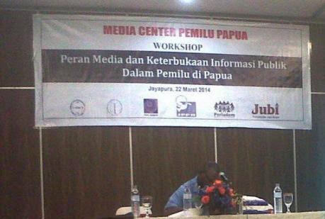Perludem dan JPPR adakan Workshop Penguatan Media Lokal di Papua dalam Pemberitaan Pemilu