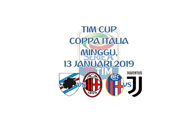 Coppa Italia 13 Januari 2019 Live Streaming
