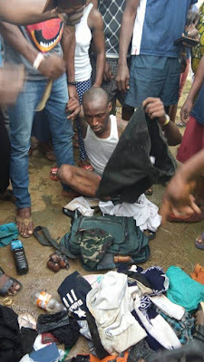 Another Suspected Badoo Member Nabbed With Black Oil, Other Items In Benson, Ikorodu