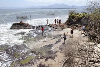 Catamarã fará passeios ao Marujá  no sábado 07/12  e à Ponta Norte no domingo 08/12