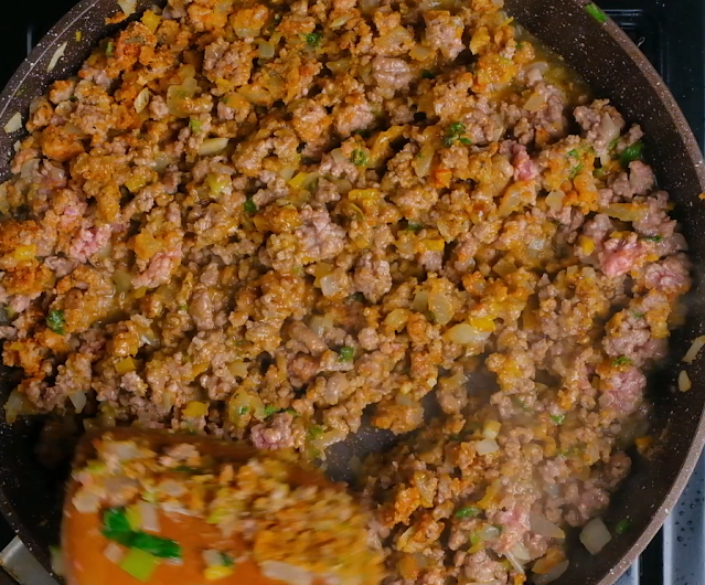 meat filling for patty