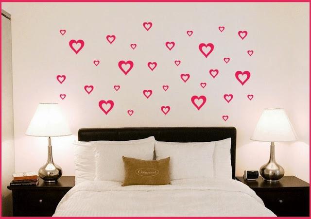 decoração de quarto com papel contact