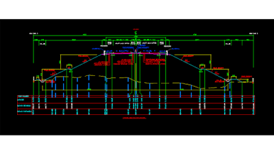 Cara membuat cross section di autocad