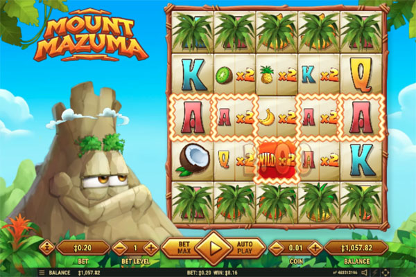 Main Gratis Slot Indonesia - Mount Mazuma Habanero