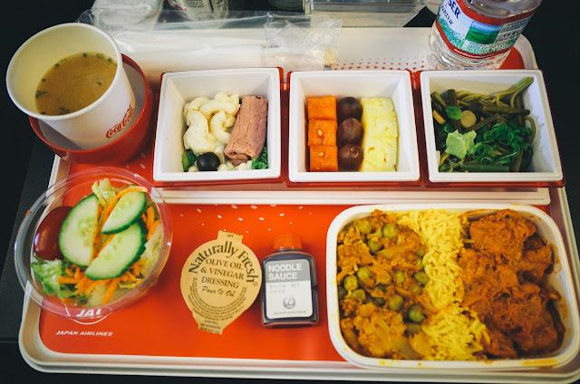 機内食1(昼食) その1