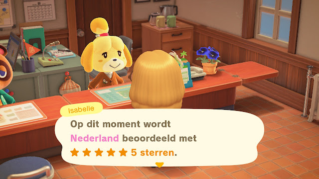 5 sterren eiland Animal Crossing