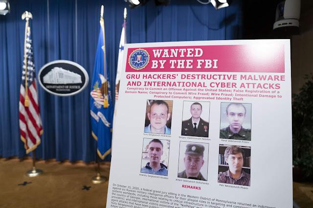 Зловещие хакеры ГРУ и удовлетворение приступов злобы