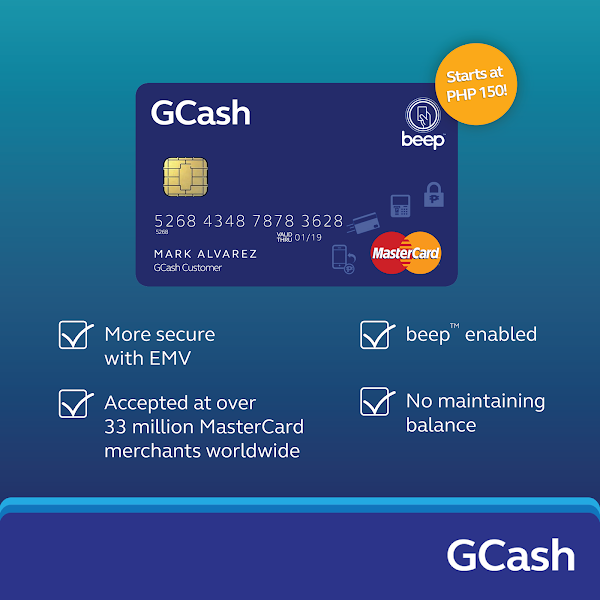 How to get a GCASH MASTERCARD ATM CARD