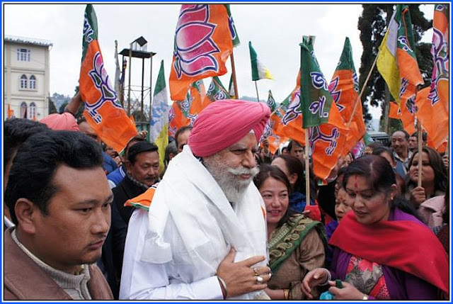 Former Darjeeling MP SS Ahluwalia opts out of Darjeeling seat