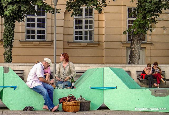 Bairros dos Museus (MuseumsQuartier), Viena, Áustria