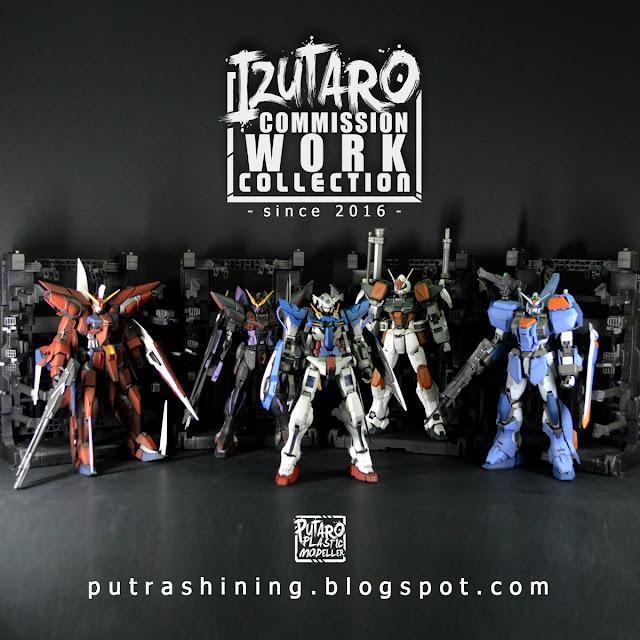 Izutaro Commission Work Collection since 2016 | Gunpla / Toys / Figures / Diorama