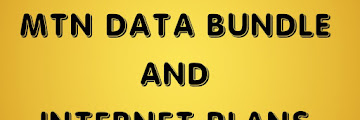 MTN Data Bundle Codes and Internet Plan Prices
