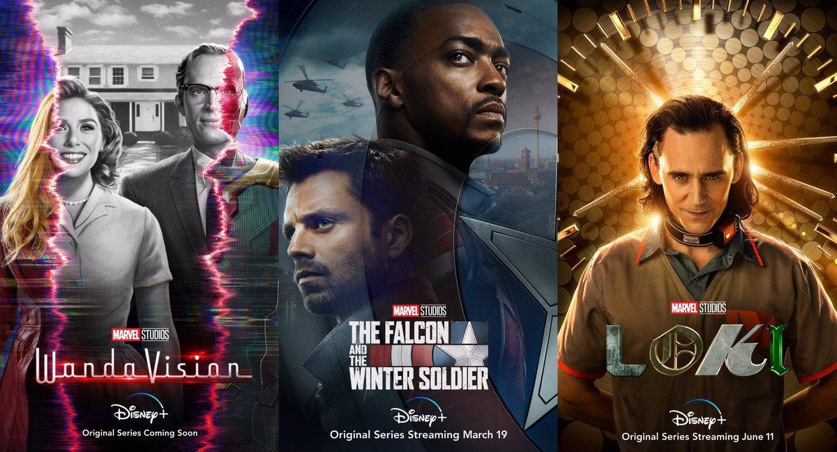 WandaVision' , 'The Falcon and the Winter Soldier' o 'Loki', ¿con cuál nos  quedamos? | TV Spoiler Alert