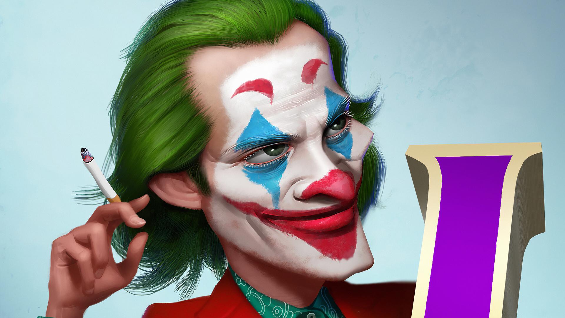 Mr Joker 2020 Full HD Wallpaper
