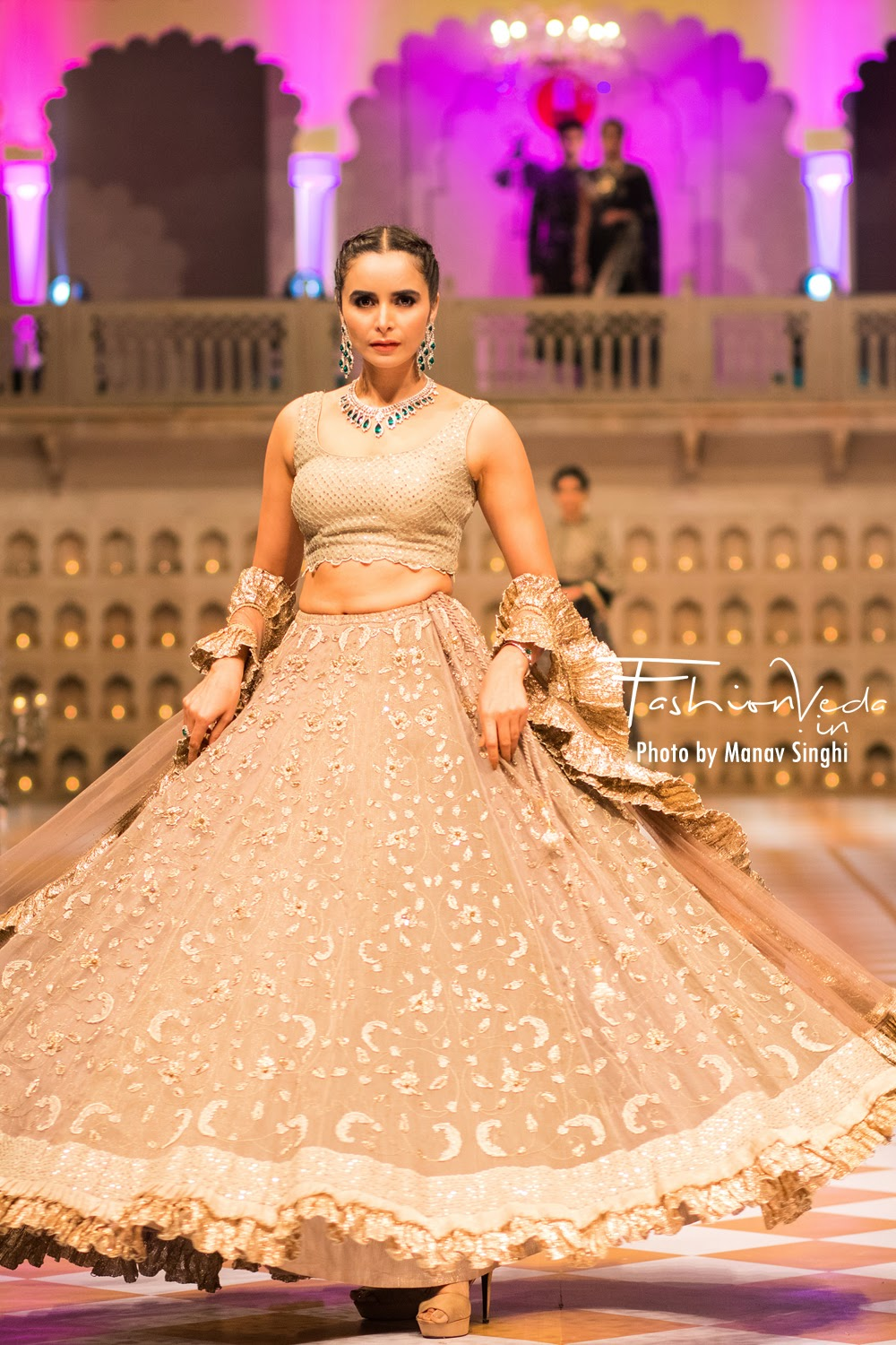 Collection by House of Kotwara at Fashion Connect Show, Jaipur.