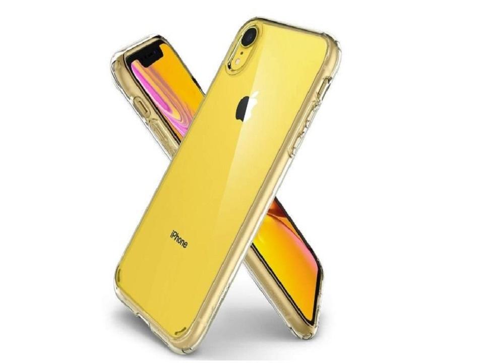 iPhone-XR-with-Spigen-Ultra-Hybrid-Case