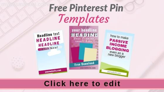 Pinterest Pin Templates