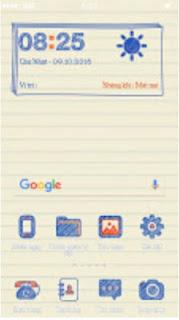 Tema Paper untuk Android ColorOS 3