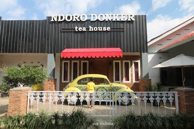 ndoro donker tea house kemuning