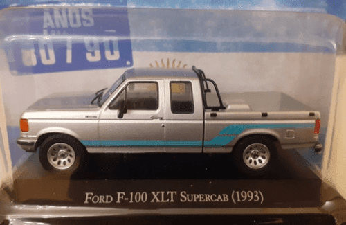 Ford F-100 XLT Super Cab 1993 1:43 autos inolvidables argentinos 80 90
