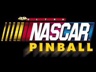 3D Ultra NASCAR Pinball