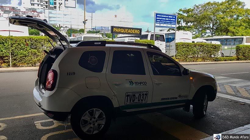 Carro usado pela Juan Ballena - Receptivo em Cartagena