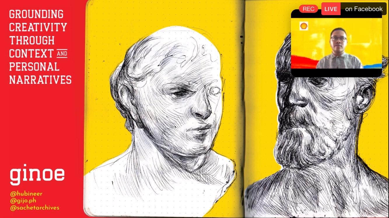 SHELL'S 3RD VIRTUAL ART INTERACT : Ginoe