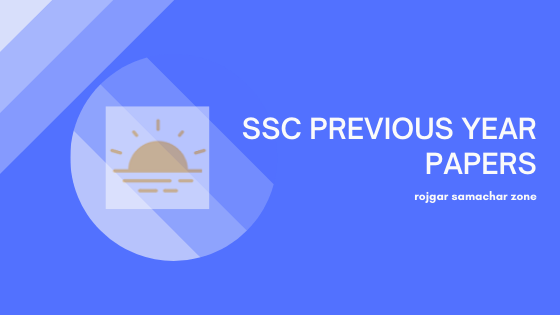 ssc previous year question papers
