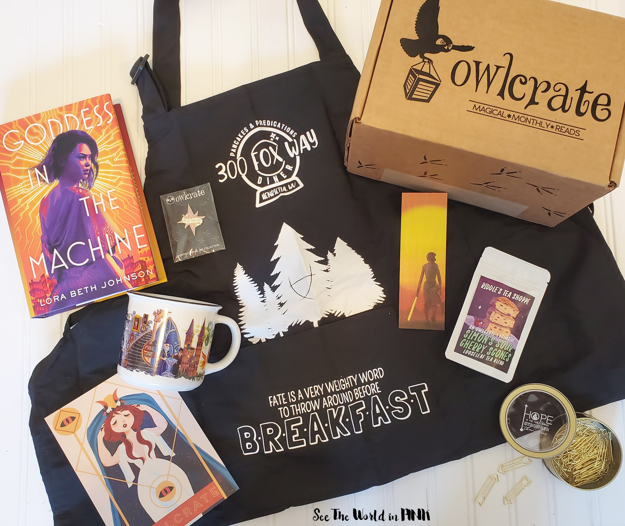 July 2020 Owlcrate Unboxing