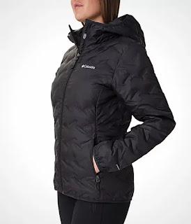 Columbia women's heavenly hooded jacket.