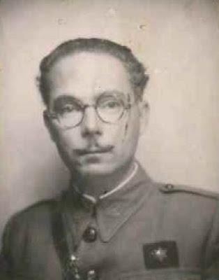 Antonio Romero Ríos con uniforme militar