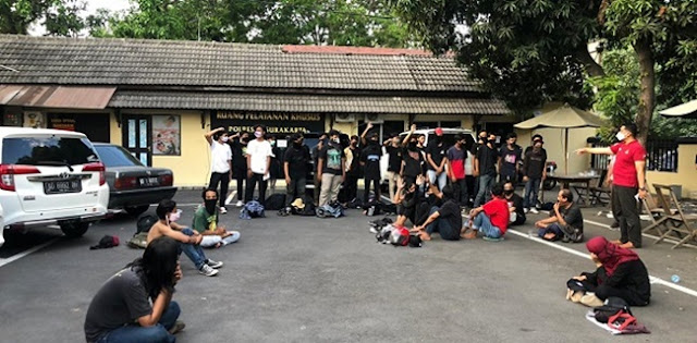 Kronologi Aksi Solo Raya Bergerak Berujung Penangkapan, Kini Tersisa Satu Peserta Masih Ditahan