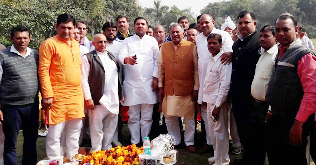Junk will be historic on February 15, BJP's youth hoonar rally: Tejpal Tanwar