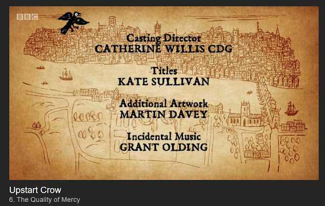 upstart crow end credits