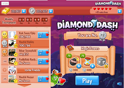 DIAMOND DASH HACK PROOF