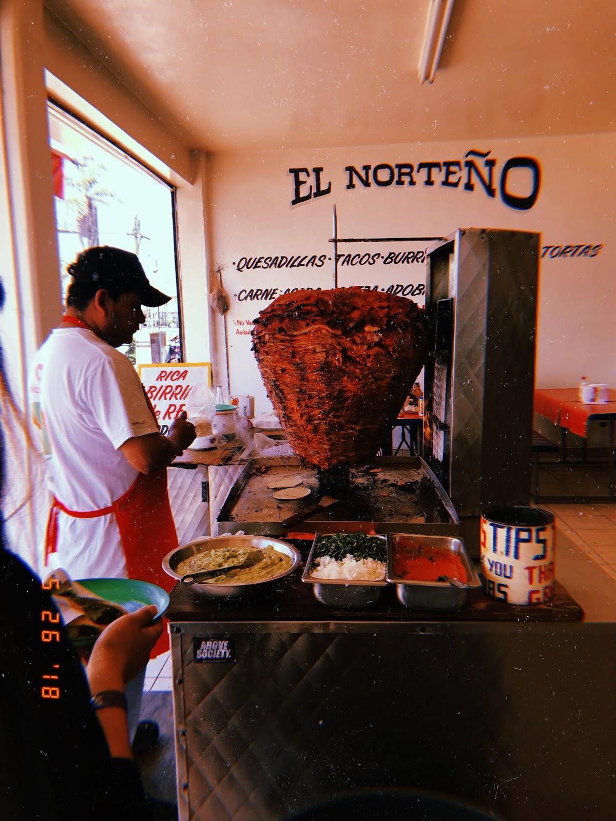 el norteño, rosarito, taqueria