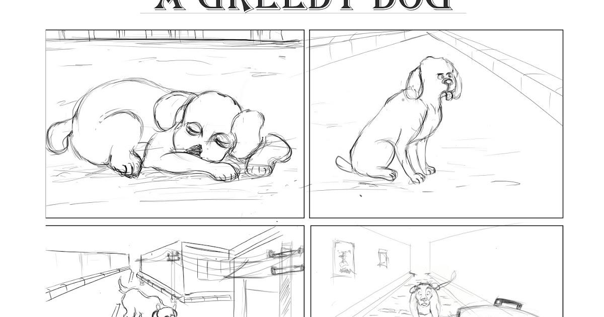 Step By Step Greedy Dog Drawing Contoh Soal Himpunan