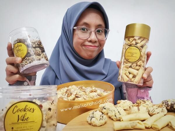 biskut raya Cookies Vibe