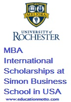 MBA International Scholarships at Simon Business School in USA 2018, Scholarship Advantage, Description, Simon Business School, Eligibility Criteria, , Application form, Procedure