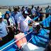 DKP Kota Bengkulu Serahkan Bantuan 8 Unit Perahu ke Nelayan