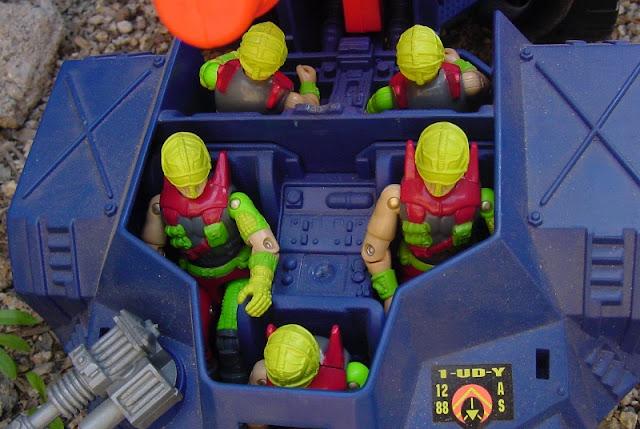 1993 Detonator, Nitro Viper, Cyber Viper, Flak Viper