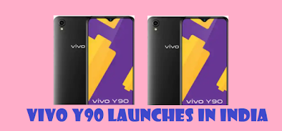 Vivo Y90 launches in India