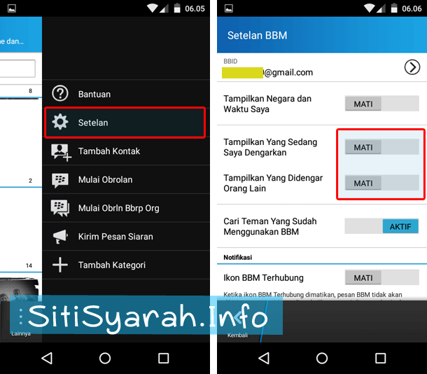 bbm pending terus di Android