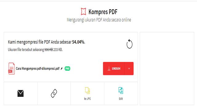 Cara Mengubah Ukuran PDF Menjadi 100 Kb