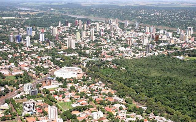 vista de Foz do Iguaçu - PR